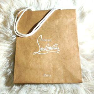 Christian Louboutin shopping bag